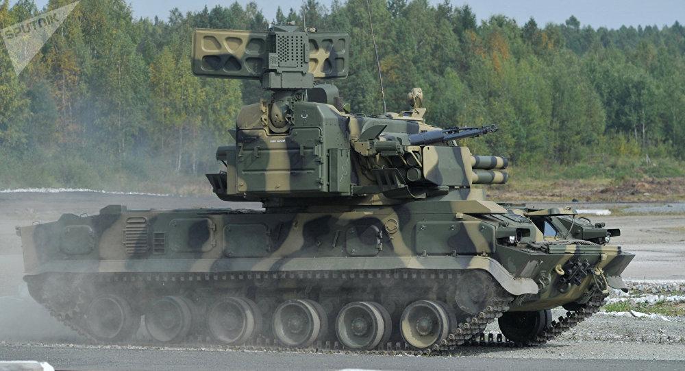 Sistema de defensa antiaérea Tunguska