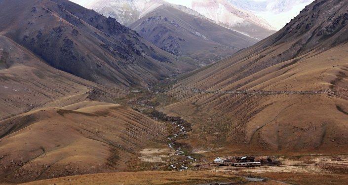 Montañas de Tian Shan, Kirguistán