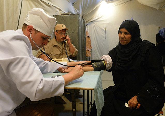 Médicos rusos en Siria (archivo)