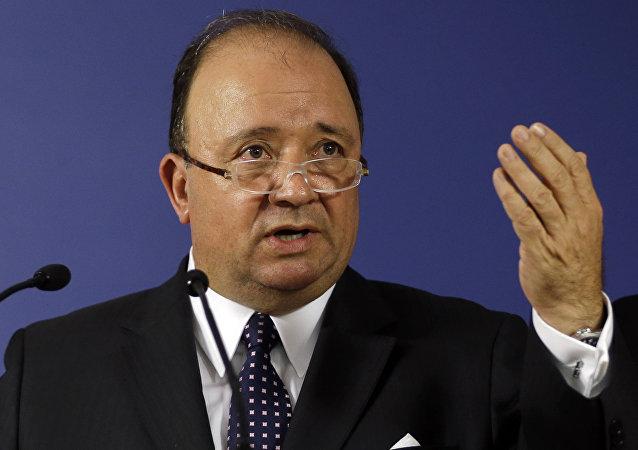 Luis Carlos Villegas, ministro de Defensa de Colombia (archivo)