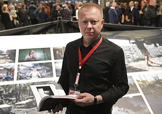 Valeri Mélnikov, fotógrafo de Sputnik