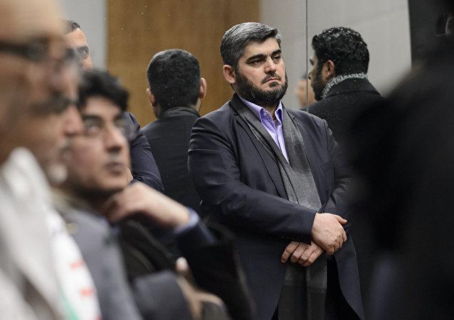Representante de la oposición siria (archivo)