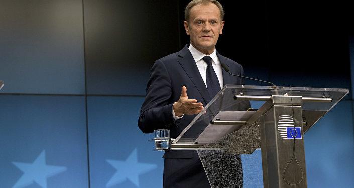 Donald Tusk, el presidente del Consejo de la Unión Europea