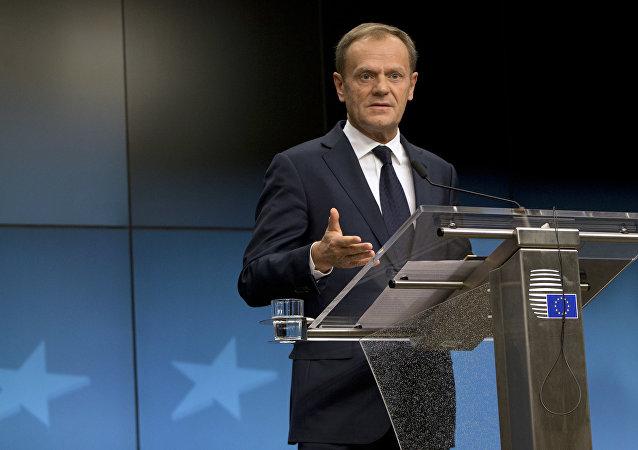 Donald Tusk, presidente del Consejo Europeo (archivo)