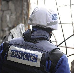 Observador de la OSCE en Donbás
