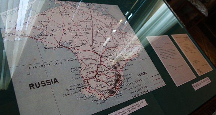 Mapa de Crimea