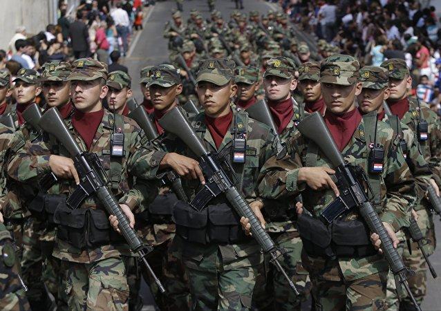 Soldados del Ejército de Paraguay (archivo)