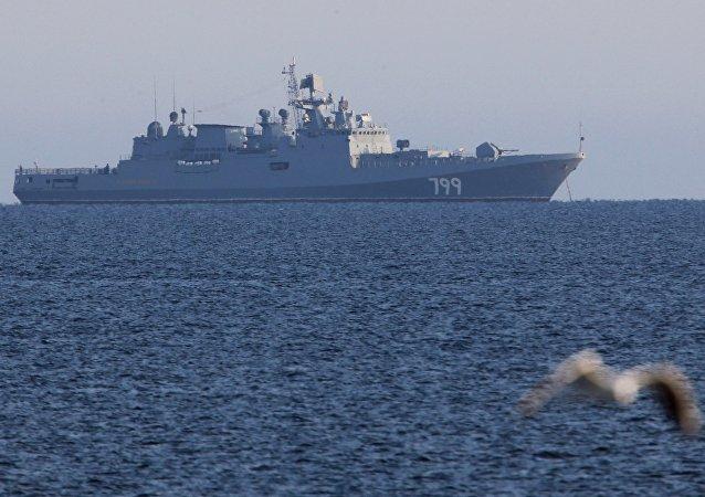 El buque patrullero Almirante Makarov