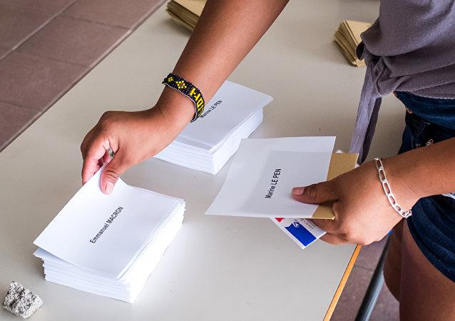 Elecciones presidenciales en la Guayana Francesa