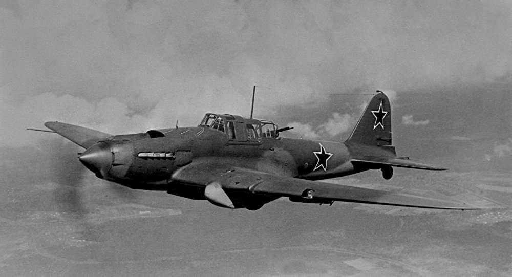 Bombardero soviético Il-2