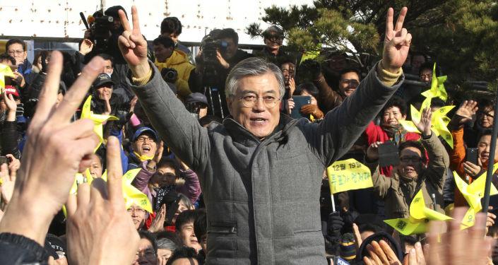Sondeos dan victoria al liberal Moon en Corea del Sur
