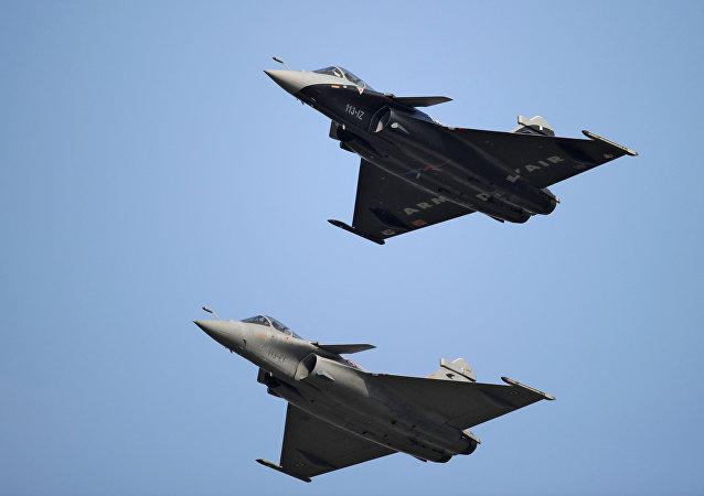 El caza francés Dassault Rafale