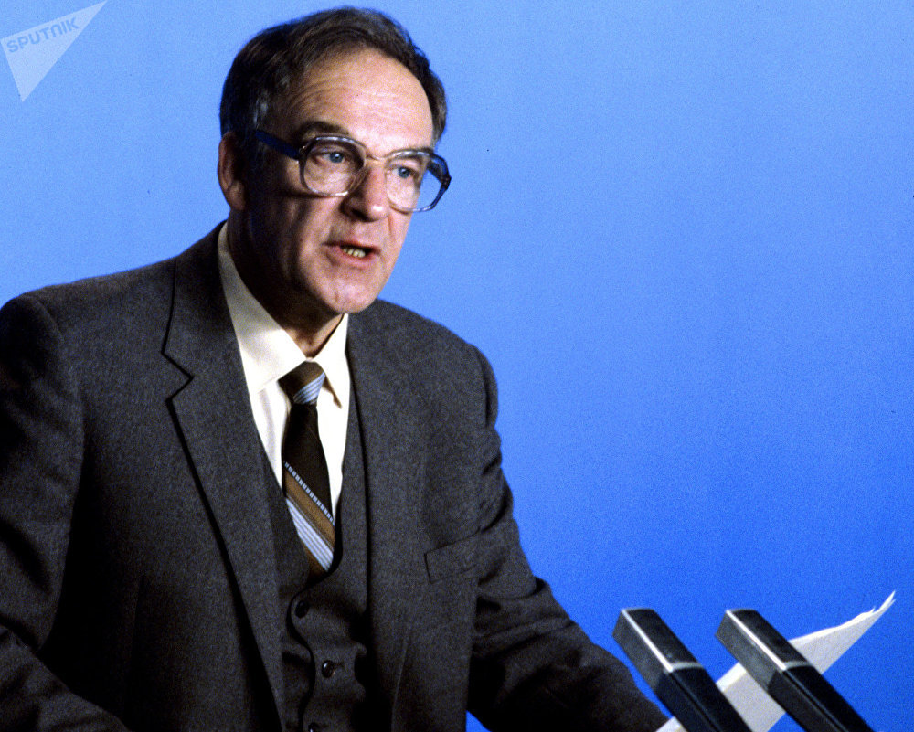 Igor Leonídovich Kiríllov en enero de 1986