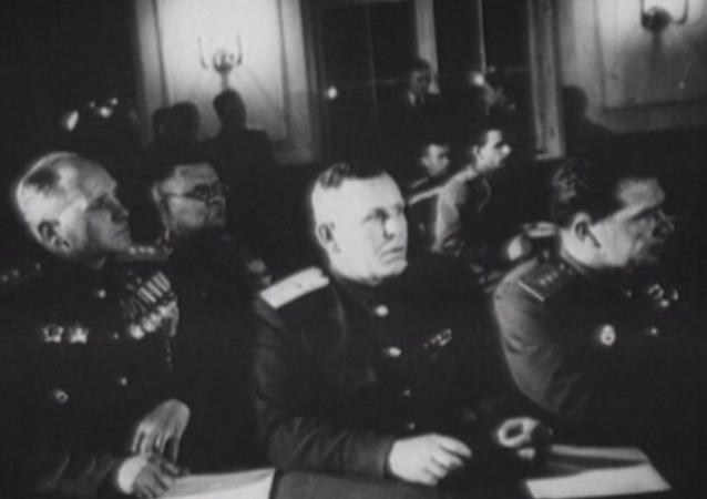 Firma del acta de capitulación alemana