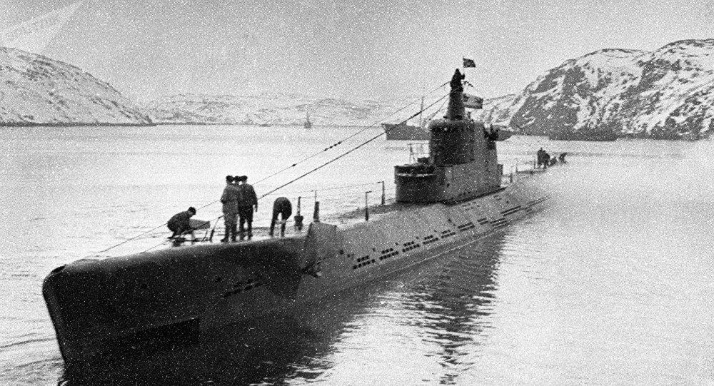 El submarino soviético K-21