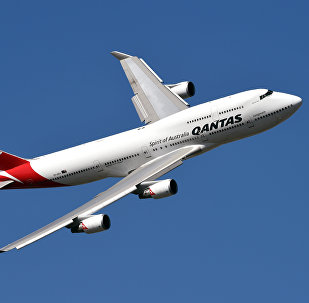 Un avión de Qantas Airways