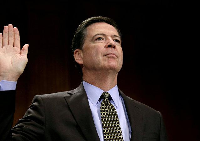 James Comey, exjefe del FBI (archivo)