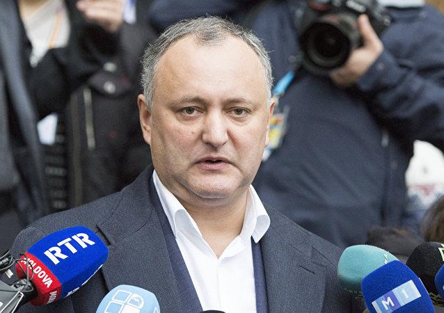 Ígor Dodon, presidente de Moldavia (archivo)