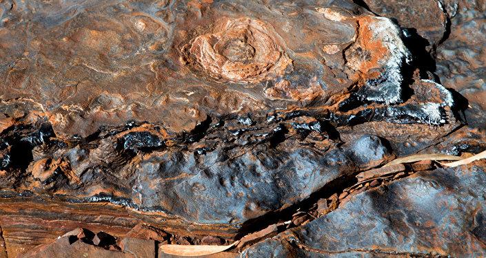 Depósitos de aguas termales en Pilbara, Australia