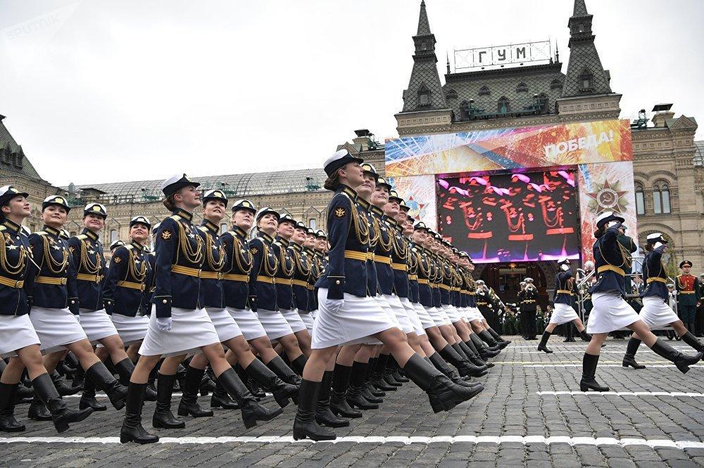 Los detalles más impactantes del desfile de la Victoria en la Plaza Roja de Moscú