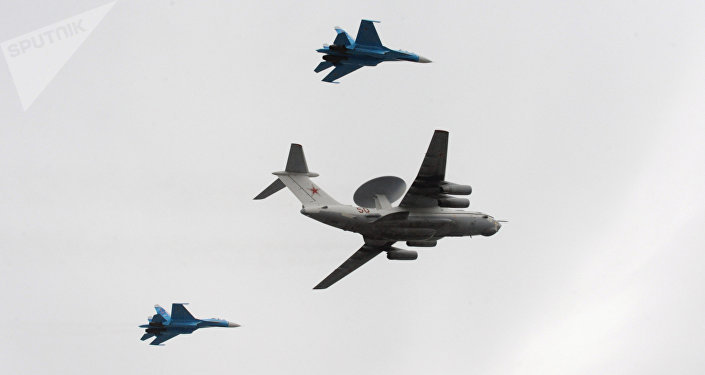 Avión ruso de alerta temprana A-50 (archivo)