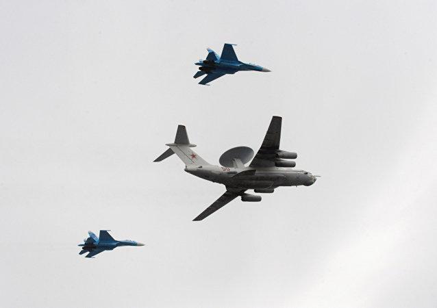 Avión ruso de alerta temprana A-50
