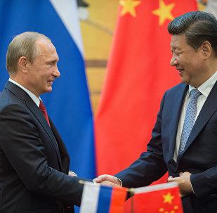 Vladímir Putin, presidente de Rusia, y Xi Jinping, presidente de China (archivo)