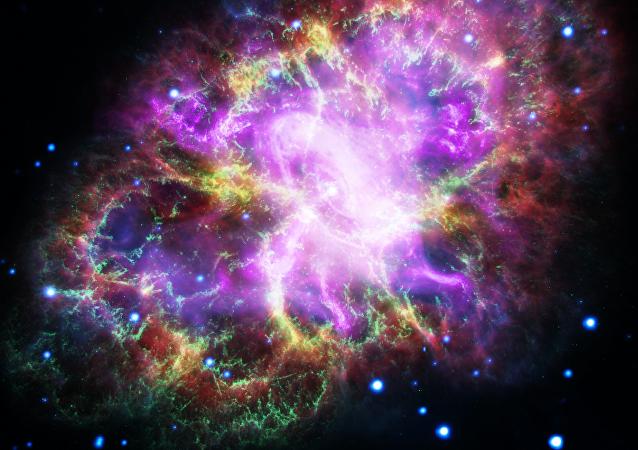 La nebulosa del Cangrejo