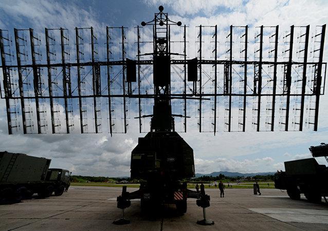 Un radar móvil en Rusia