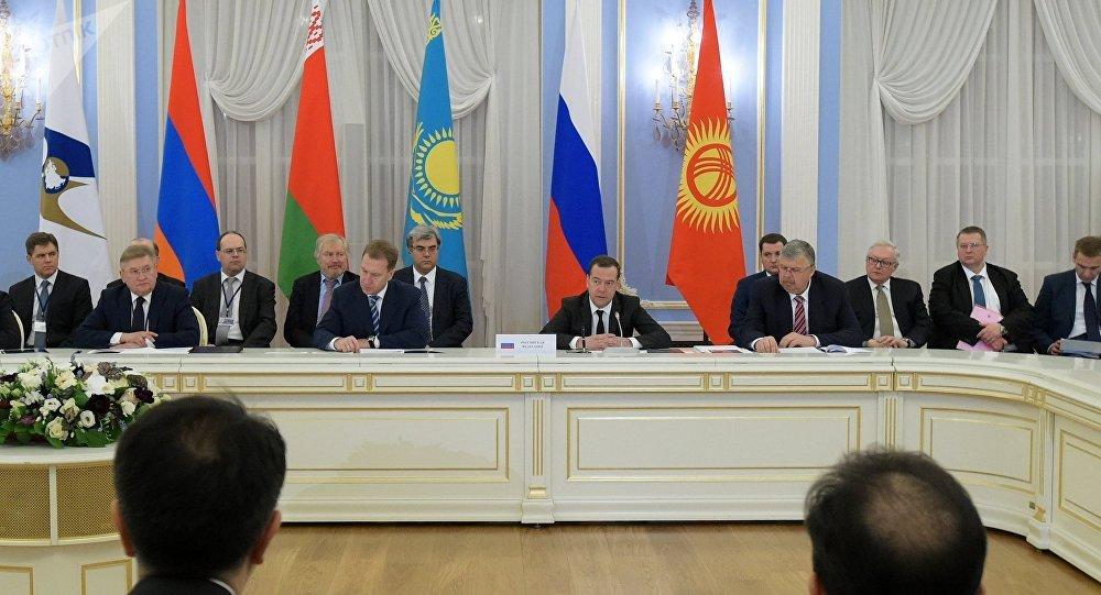 Reunión del Consejo de la UEE (archivo)