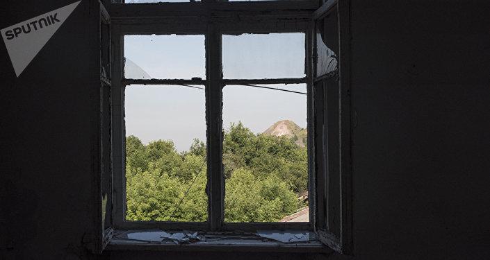 La situación en la ciudad de Górlovka en Donbás (archivo)