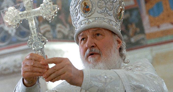 El patriarca ruso Kiril