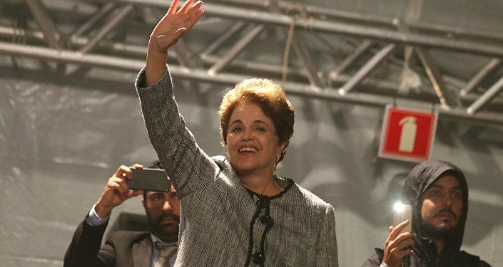 Dilma Rousseff, expresidenta de Brasil (archivo)