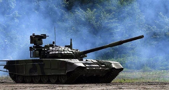 Tanque serbio M-84 modificado