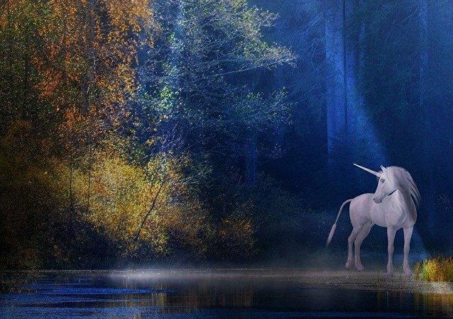 Un unicornio (imagen referencial)