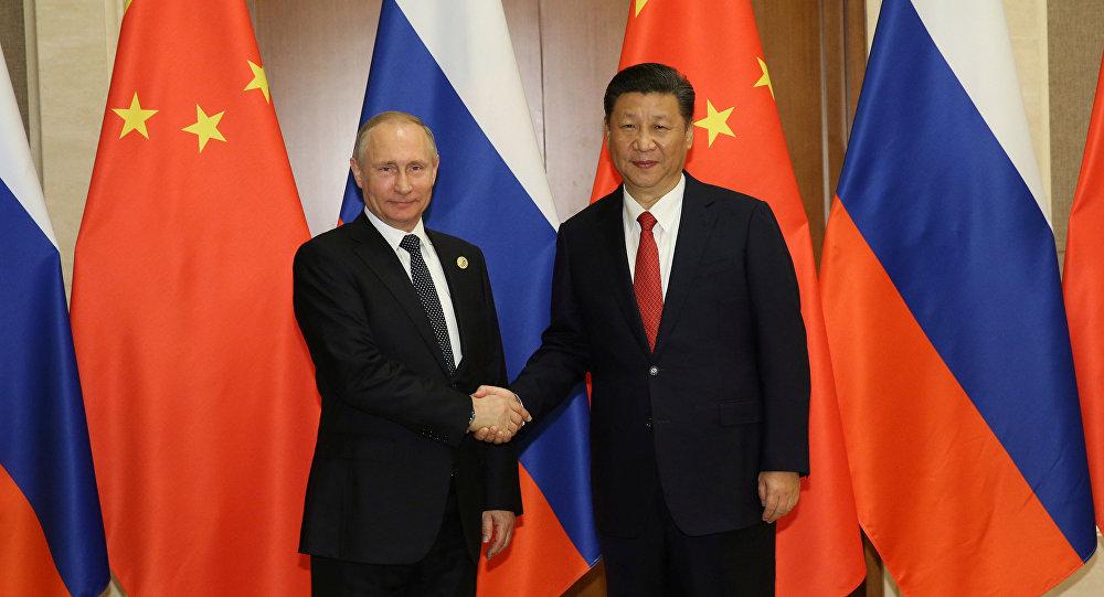 Xi Jinping, presidente de China y Cladímir Putin, presidente de Rusia (archivo)