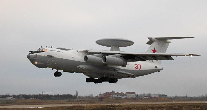 Модернизированный самолет дальнего радиолокационного обнаружения А-50У