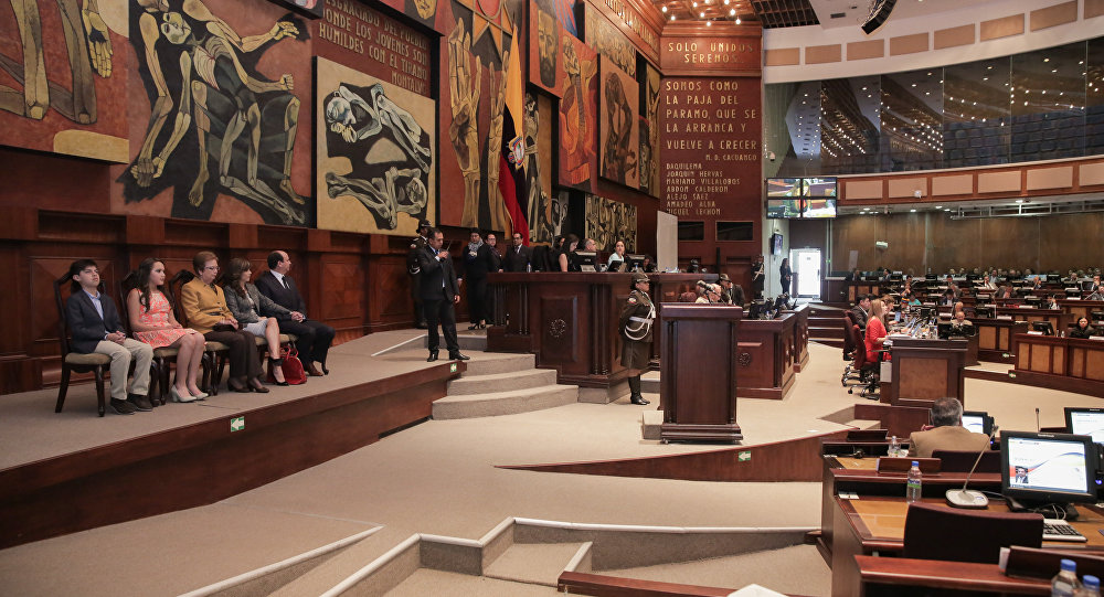Asamblea Nacional del Ecuador (archivo)