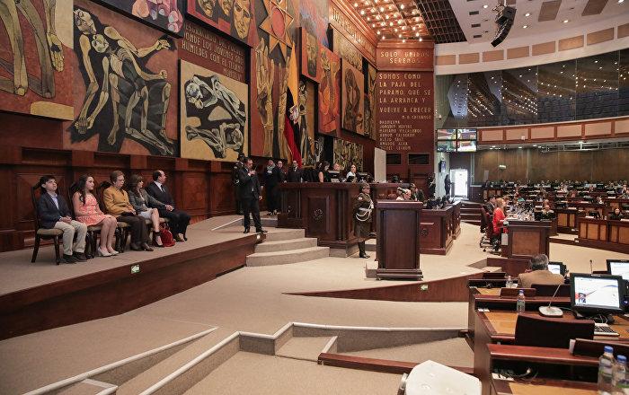Parlamento ecuatoriano decide el futuro de máximo órgano de contralor