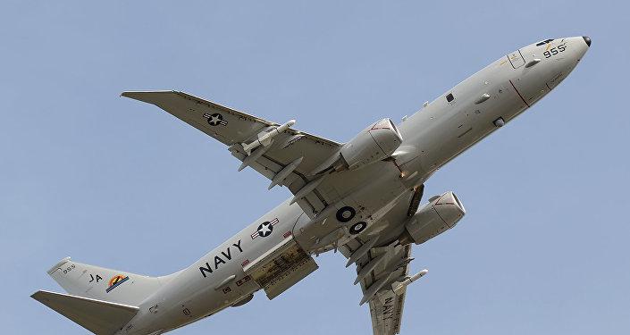 Un avión espía P-8A Poseidon (archivo)