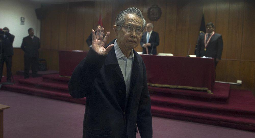 Alberto Fujimori, expresidente de Perú