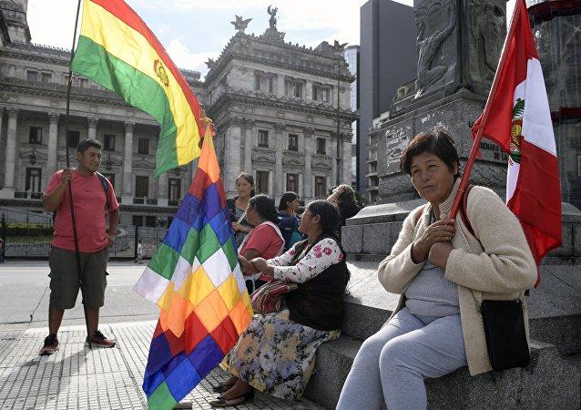 Migrantes en Argentina