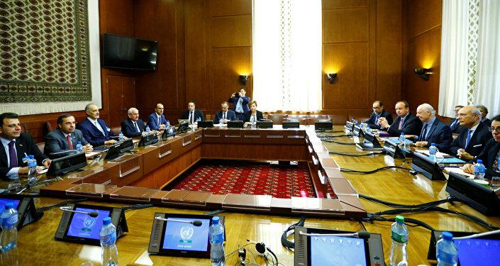 Las negociaciones intersirias en Ginebra (archivo)