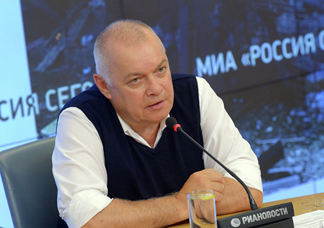 Director general de la agencia de noticias Rossiya Segodnya, Dmitri Kiseliov