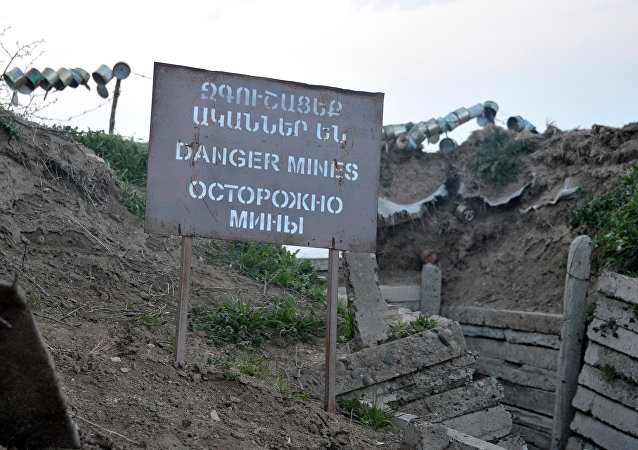 La situación en Nagorno Karabaj (archivo)