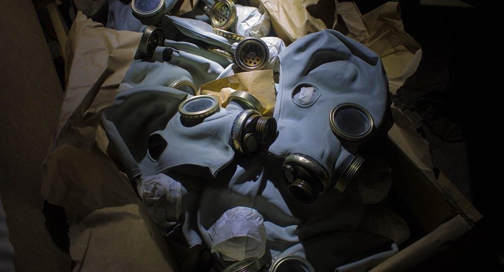 Máscaras antigás