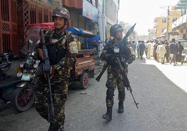 Las fuerzas seguridad de Afganistán (archivo)