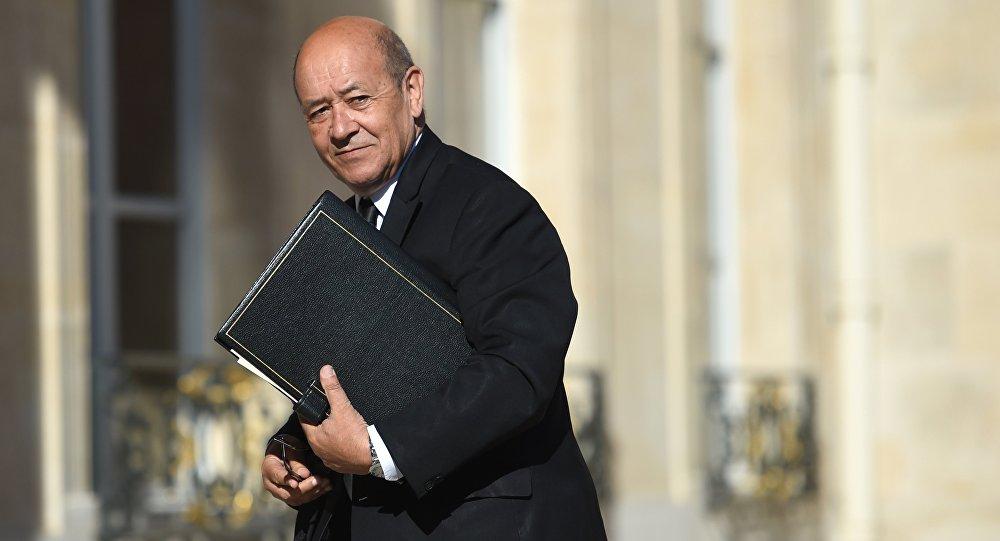 El ministro de Asuntos Exteriores de Francia, Jean-Yves Le Dria