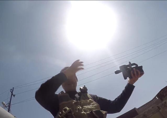 Cámara GoPro salva a un periodista de muerte por una bala terrorista