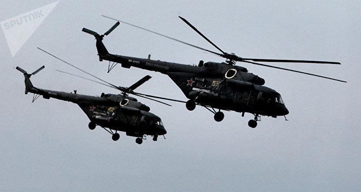 Helicópteros de asalto Mi-8AMTSh (Terminator)